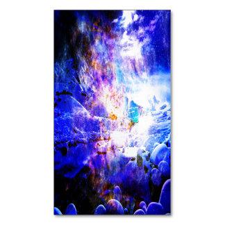 Cartão De Visitas Magnético Respire outra vez sonhos da noite de Yule