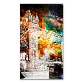 Cartão De Visitas Magnético Respire outra vez sonhos de Londres