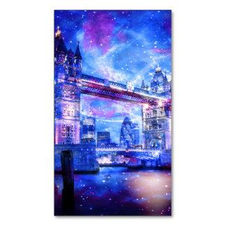 Cartão De Visitas Magnético Sonhos da Londres do amante