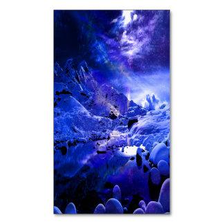 Cartão De Visitas Magnético Sonhos da noite de Yule
