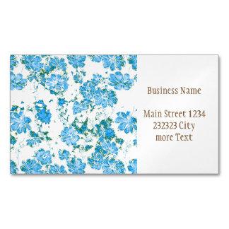 Cartão De Visitas Magnético sonhos florais 12 E