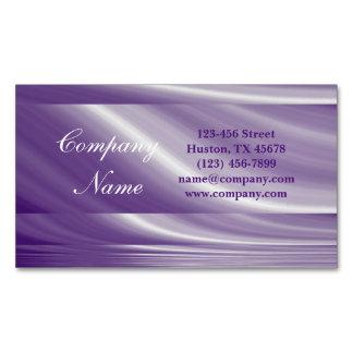 Cartão De Visitas Magnético TERMAS roxos da beleza do cabeleireiro do lilac da