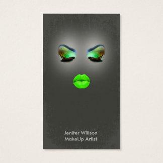 Cartão De Visitas Makeup Artist Business Card