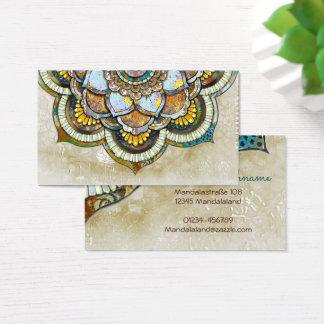 Cartão De Visitas Mandala Happiness