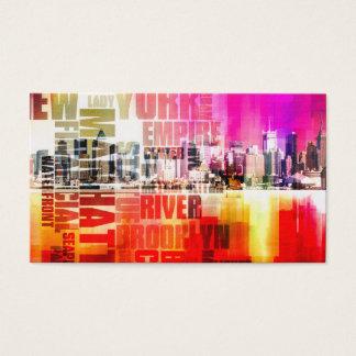 Cartão De Visitas Manhattan