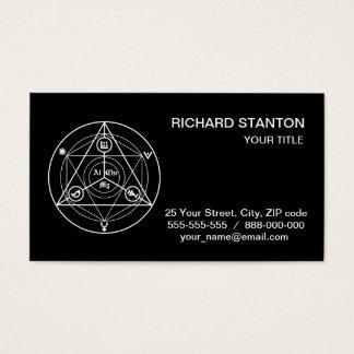 Cartão De Visitas Manifesto da alquimia