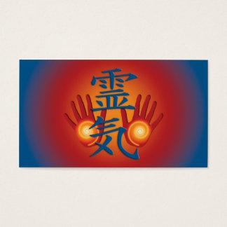 Cartão De Visitas Mãos de REIKI