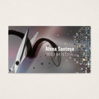 Cartão De Visitas Maquilhador do brilho