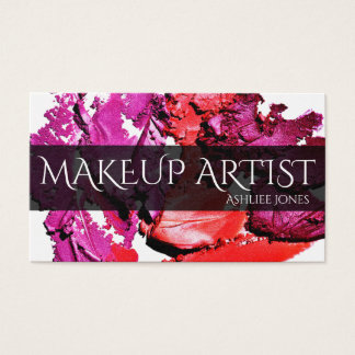Cartão De Visitas Maquilhador profissional