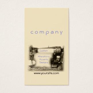 Cartão De Visitas Máquina de costura velha