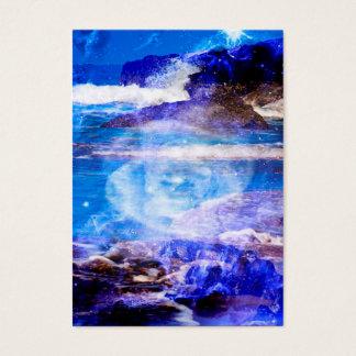 Cartão De Visitas Mar da serenidade