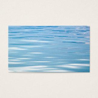 Cartão De Visitas Mar do fundo da tranquilidade
