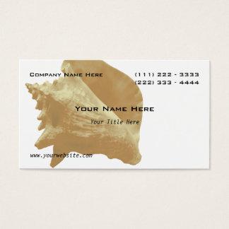 Cartão De Visitas Mar Shell