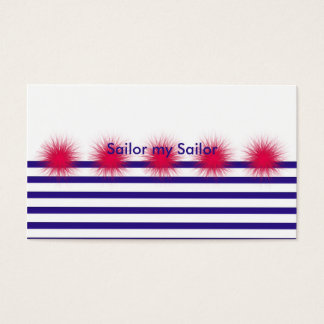 Cartão De Visitas marinheiro meu marinheiro