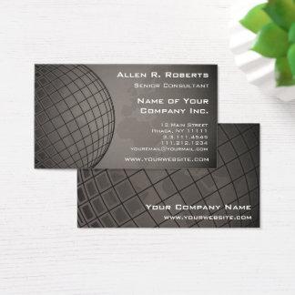 Cartão De Visitas Marketing global Vendas Corporaçõ do mapa do mundo