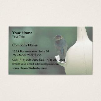 Cartão De Visitas Martin roxo