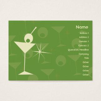 Cartão De Visitas Martini brilha - carnudo