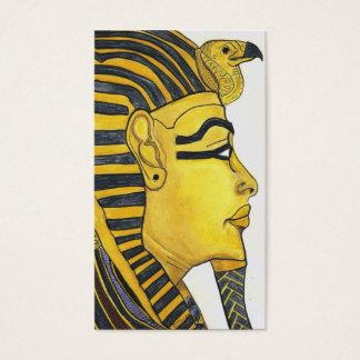 Cartão De Visitas máscara do ouro