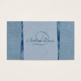 Cartão De Visitas Máscaras do azul