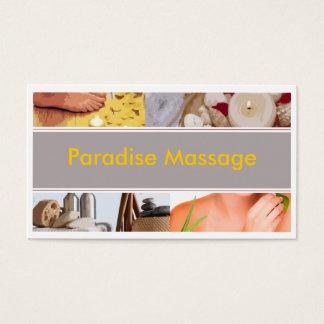 Cartão De Visitas Massagem do paraíso
