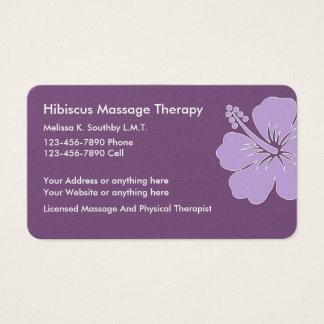 Cartão De Visitas Massagem e fisioterapia