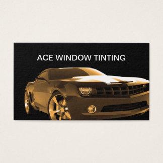 Cartão De Visitas Matização automotriz da janela