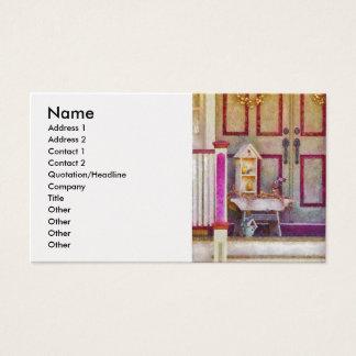 Cartão De Visitas Mediador imobiliário - coletor do birdhouse