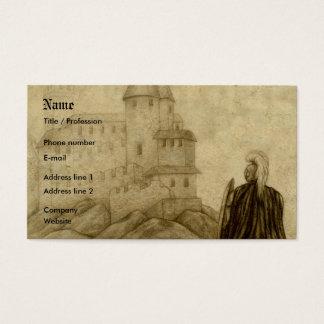 Cartão De Visitas Medieval
