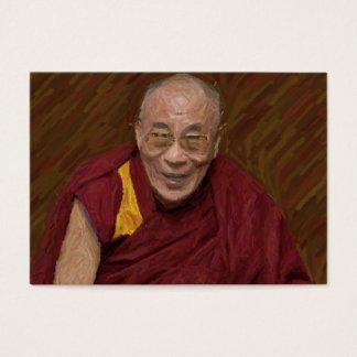 Cartão De Visitas Meditação budista Yog do budismo de Dalai Lama
