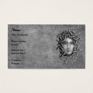 Cartão De Visitas Medusa