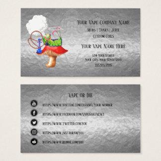 Cartão De Visitas Meios do Social do negócio da prata do cachimbo de