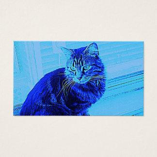 Cartão De Visitas Menino azul