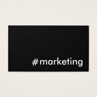 Cartão De Visitas Mercado social dos meios