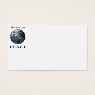 Cartão De Visitas Mercadoria da PAZ