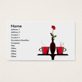 Cartão De Visitas Mesa de centro - tamanho do negócio