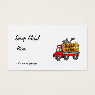Cartão De Visitas Metal do Scarp