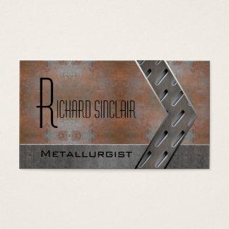 Cartão De Visitas Metalurgia Style2
