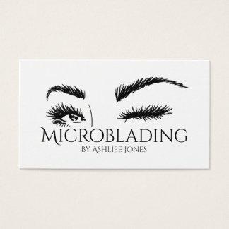 Cartão De Visitas Microblading, sobrancelhas, tatuagem, composição