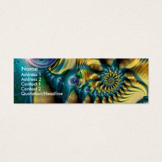 Cartão De Visitas Mini Abstractopus