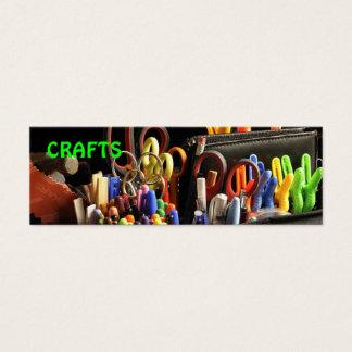 Cartão De Visitas Mini artesanatos handmade