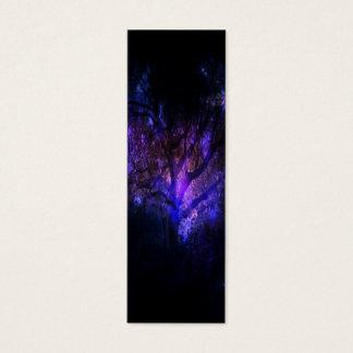 Cartão De Visitas Mini Árvore místico