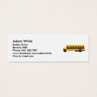 Cartão De Visitas Mini Auto escolar