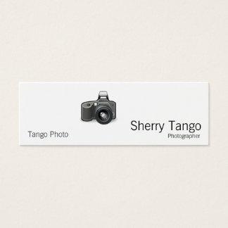 Cartão De Visitas Mini Câmera de SLR