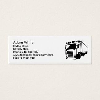 Cartão De Visitas Mini Caminhão