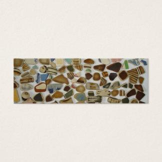 Cartão De Visitas Mini Cerâmica da praia…