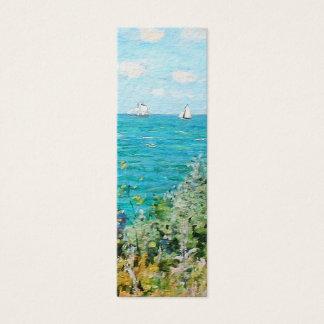 Cartão De Visitas Mini Claude Monet a cabine em belas artes do
