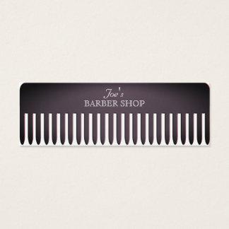 Cartão De Visitas Mini Cobrir profissional engraçado do cabeleireiro do