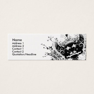 Cartão De Visitas Mini Crista de Phoenix