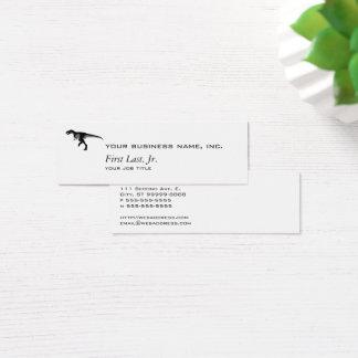 Cartão De Visitas Mini Dinossauro do Alectrosaurus