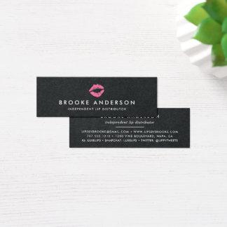 Cartão De Visitas Mini Distribuidor brilhante do produto do bordo do